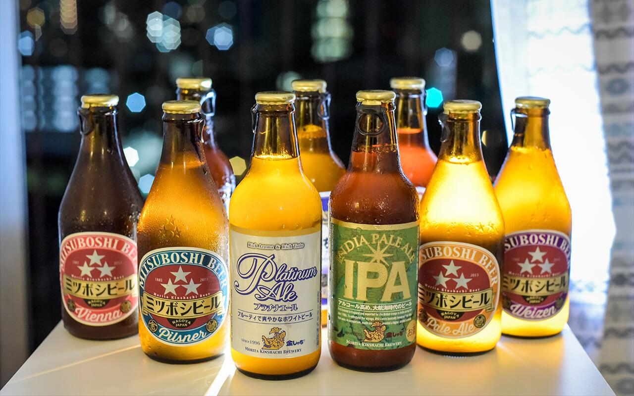 本次行程的靈魂,金鯱(きんしゃち)啤酒一定要入手!